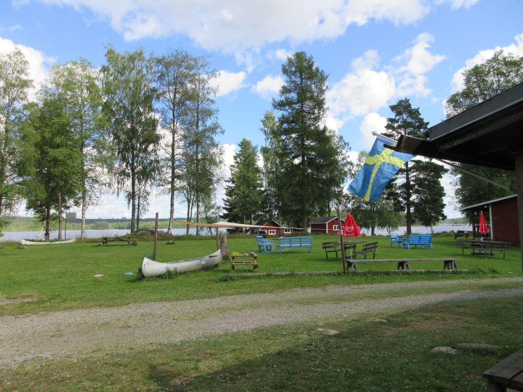 Op camping Varmlandsgarden wordt een deel van het programma van Bike Hike Paddle verzorgd