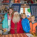 Op bezoek bij de Kerstman in Tomteland