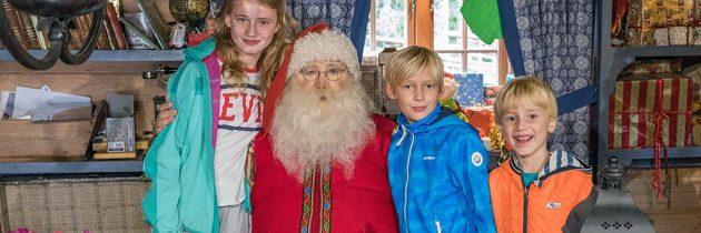 Op bezoek bij de Kerstman in Tomteland in Dalarna