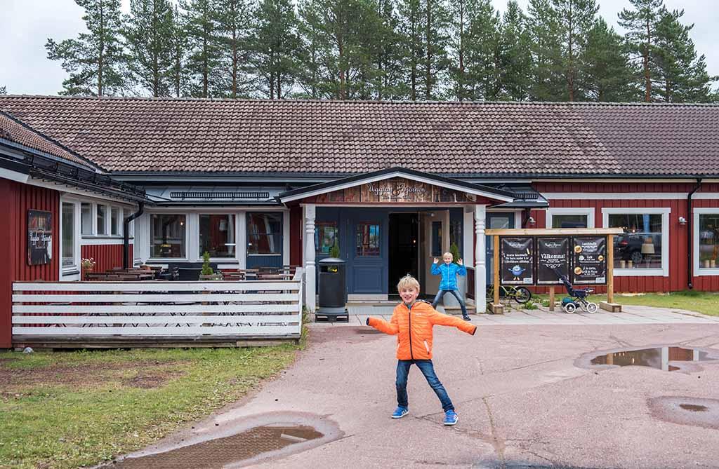 Het restaurant dat bij Orsa Grönklitt hoort, Ugglan & Björnen
