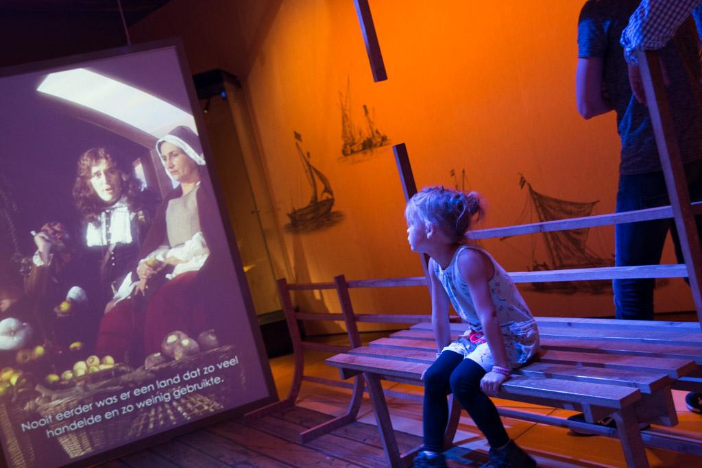 tentoonstelling kind scheepvaartmuseum