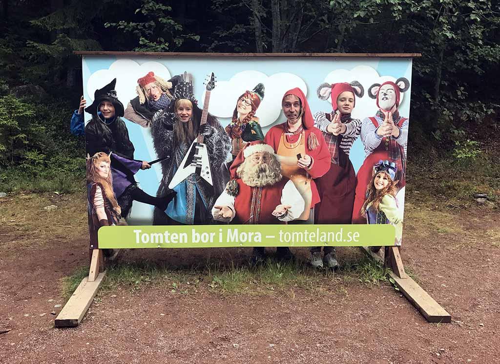 Niet alleen de Kerstman, maar ook heksen, trollen, elven en muizen lopen rond in Tomteland