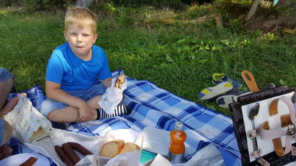 Heerlijk zeg zo'n Juppi picknick