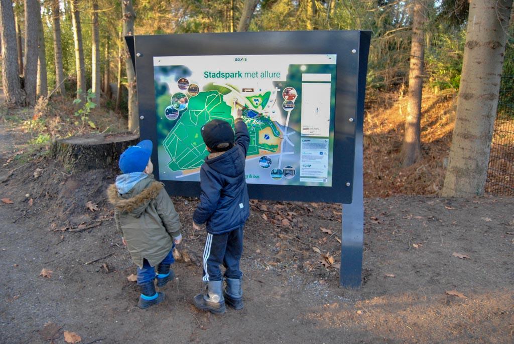Apeldoorn met kinderen berg en bos