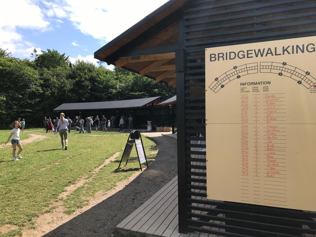 Bridgewalking start met een uitgebreide voorbereiding