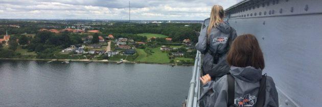 Bridgewalking in Middelfart met kinderen, een avontuur boven de Lillebaelt