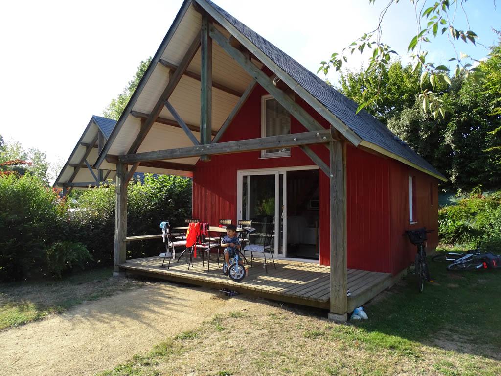 Ons mooie huisje, het lijkt wel een beetje Zweeds!