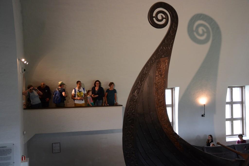 Het Vikingmuseet op het eiland Bygdøy