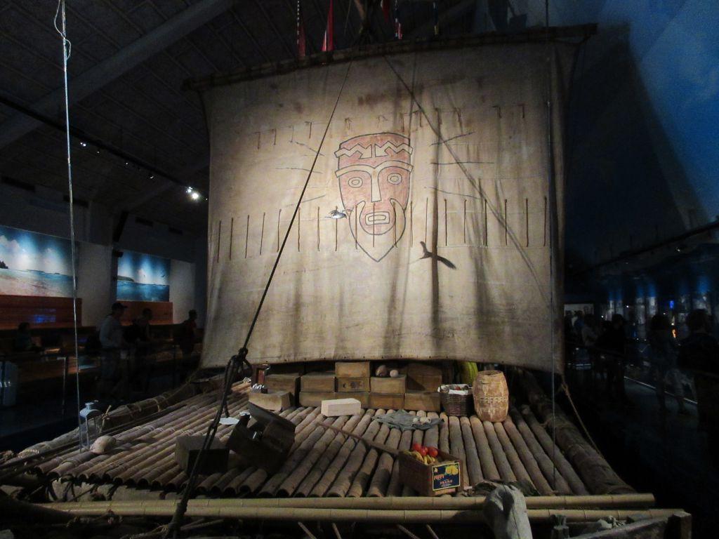 Het Kon-Tiki vlot van Thor Heyerdahl