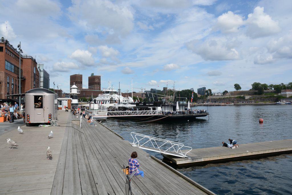 De Aker Brygge in Oslo