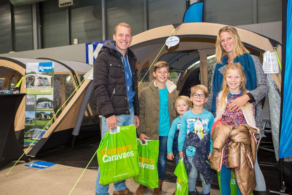 Met het hele gezin naar de Kampeer- en Caravan Jaarbeurs.