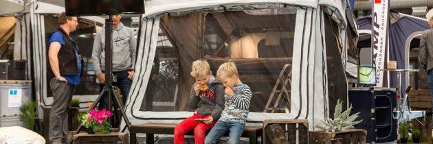 Caravan, vouwwagen of tent? Orienteren doe je bij de Kampeer- en Caravan Jaarbeurs