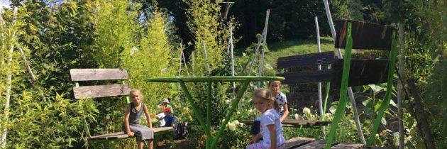 Jardin pour la Paix in Bitche, laat je verwonderen in deze fantasierijke tuin in de Vogezen