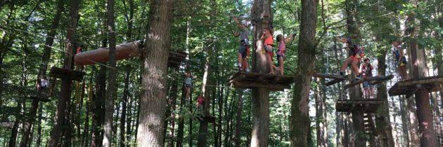 Klimpark Tépacap in Bitche, een heerlijk klim- en speelbos in de Vogezen