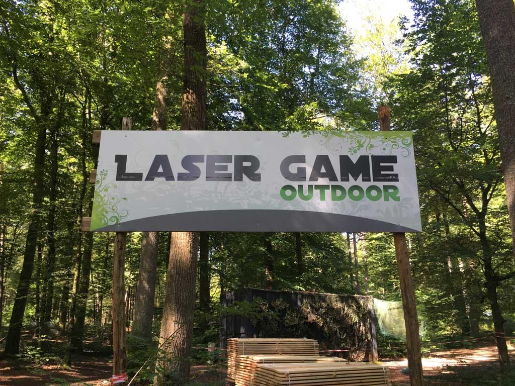 Lasergamen kan hier ook