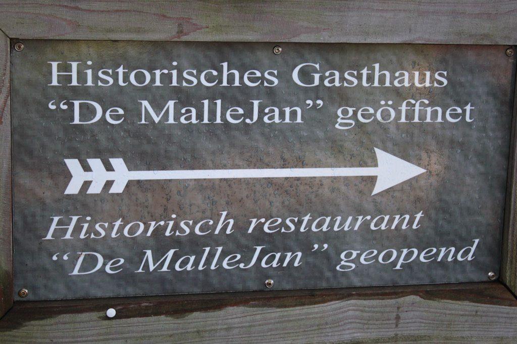 De Malle Jan, historisch restaurant.