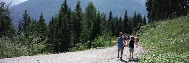 Tiroler Oberland met kinderen ontdekken vanuit Pfunds