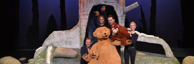 Theatervoorstelling 'Welterusten, Kleine Beer', voor alle kinderen die weleens bang in het donker zijn