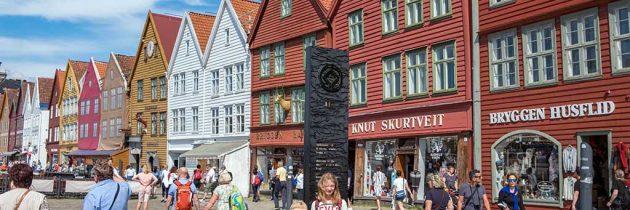 Stedentrip Bergen met kinderen, een aanrader tijdens een rondreis door Noorwegen