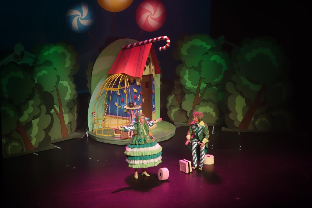 Hans en Grietje de musical Titus en Fien