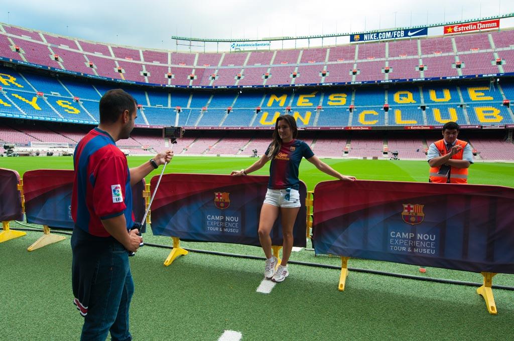 Voor alle voetballiefhebbers: Camp Nou.