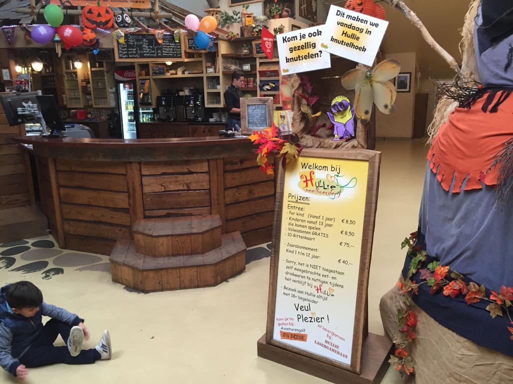Bij Hullie is van alles te doen en als gast van vakantiepark De Pier heb je gratis toegang.