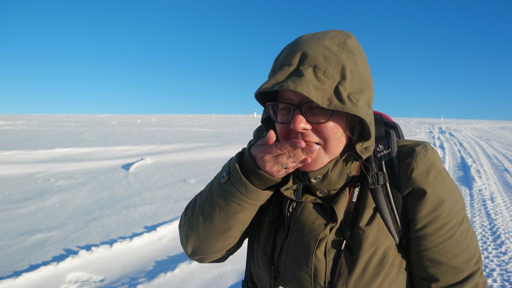 Smaakt sneeuw naar vanille ijs?