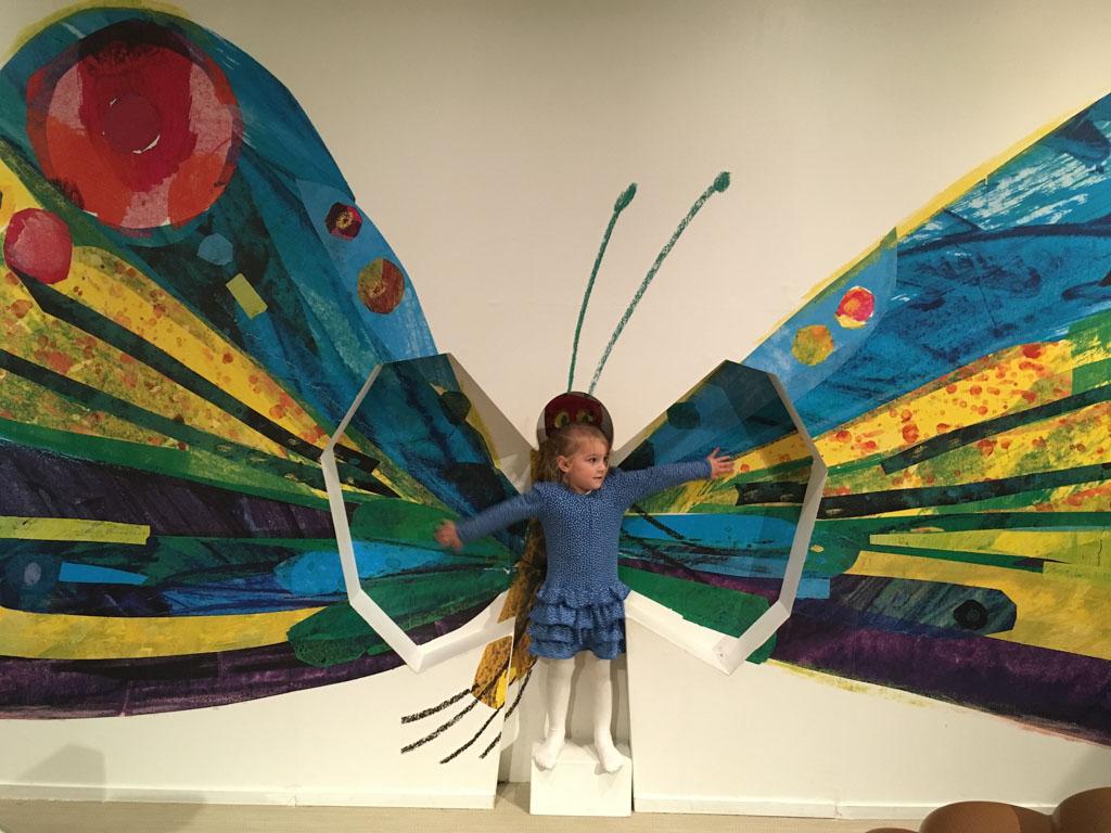 De mooie vlinder