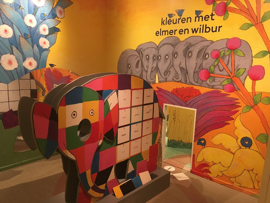 Kleuren leren met Elmer