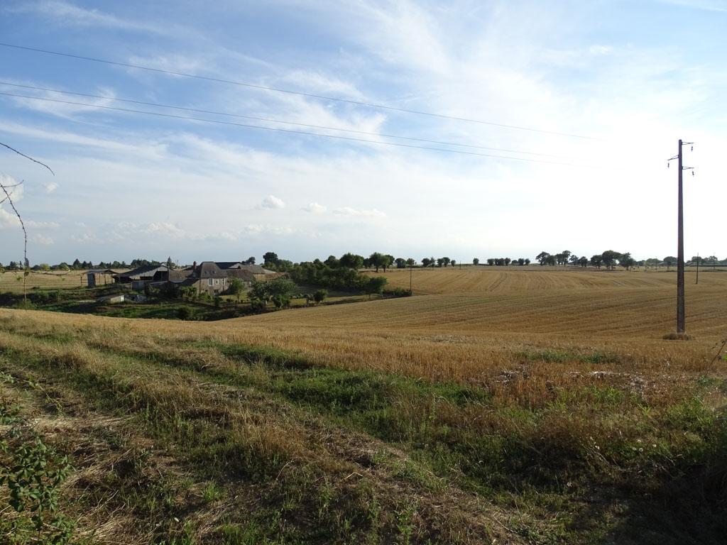 Mayenne, het glooiende Franse landschap.
