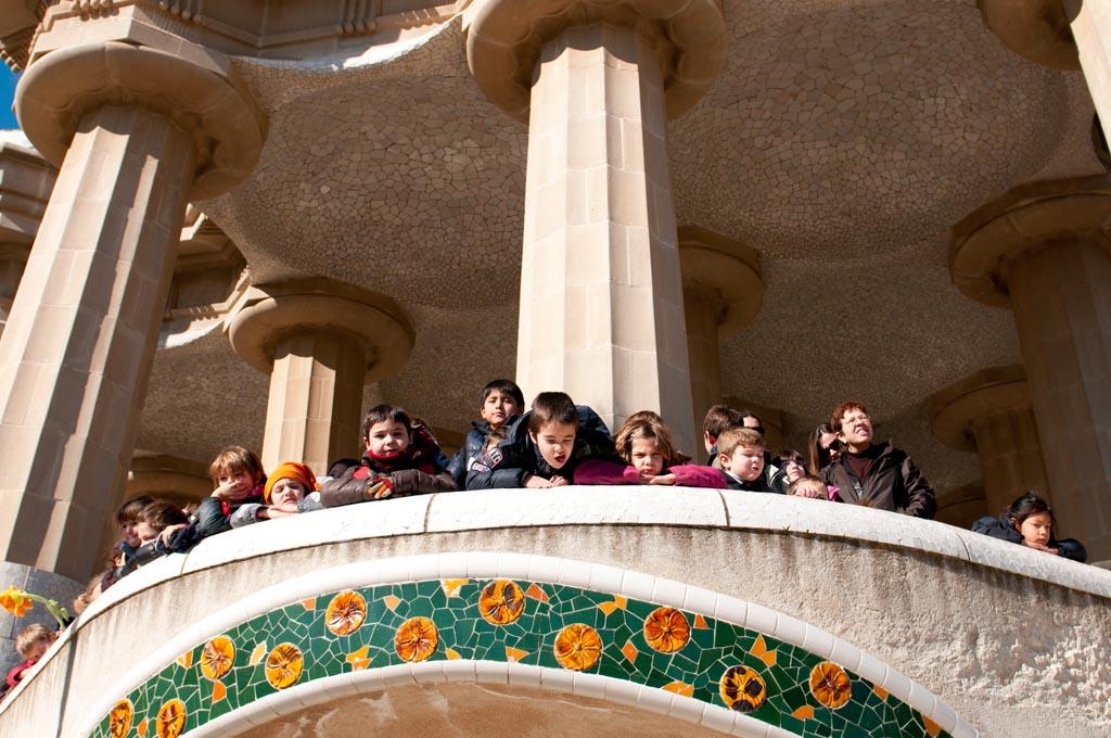 Park Guell, een echte must see voor iedereen die naar Barcelona gaat.