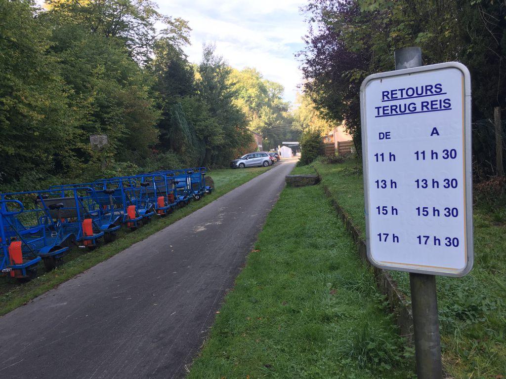 Er staan genoeg fietsen klaar
