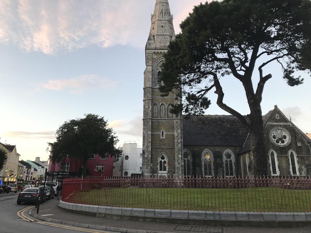 Het kerkje van Killarney.