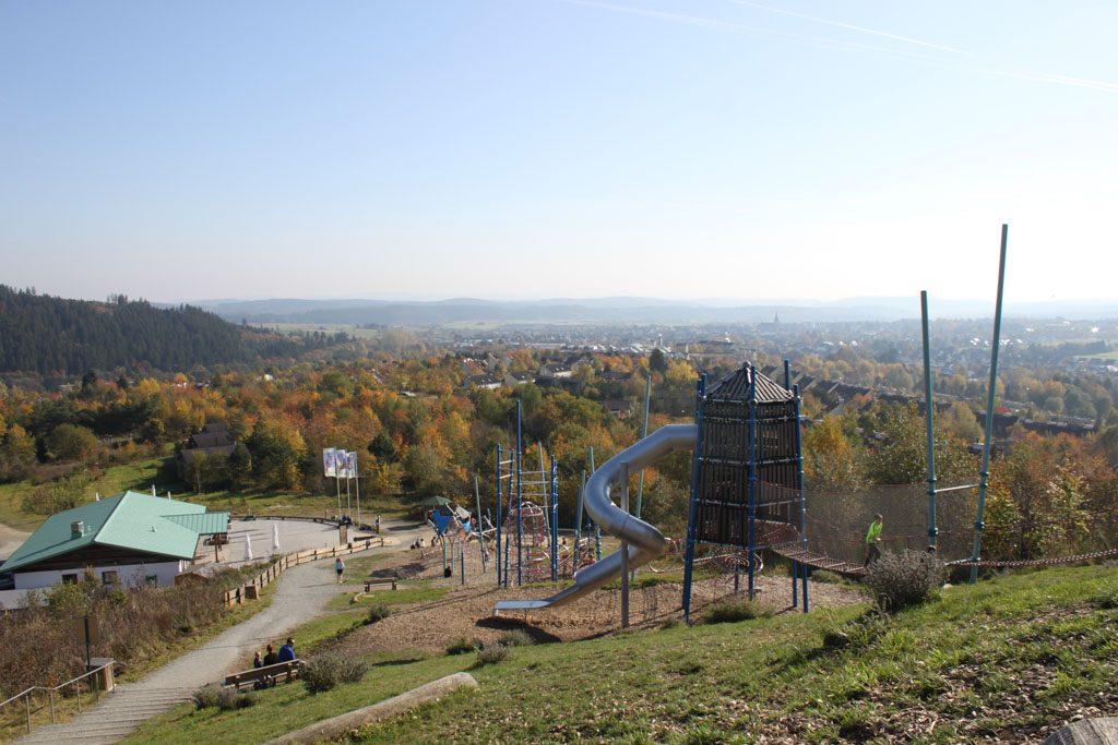 Speeltuin met het mooiste uitzicht van het Sauerland.