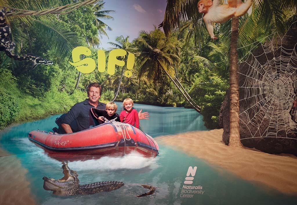 De nieuwe tentoonstelling van Naturalis heet GIF! en boegbeeld is Freek Vonk.