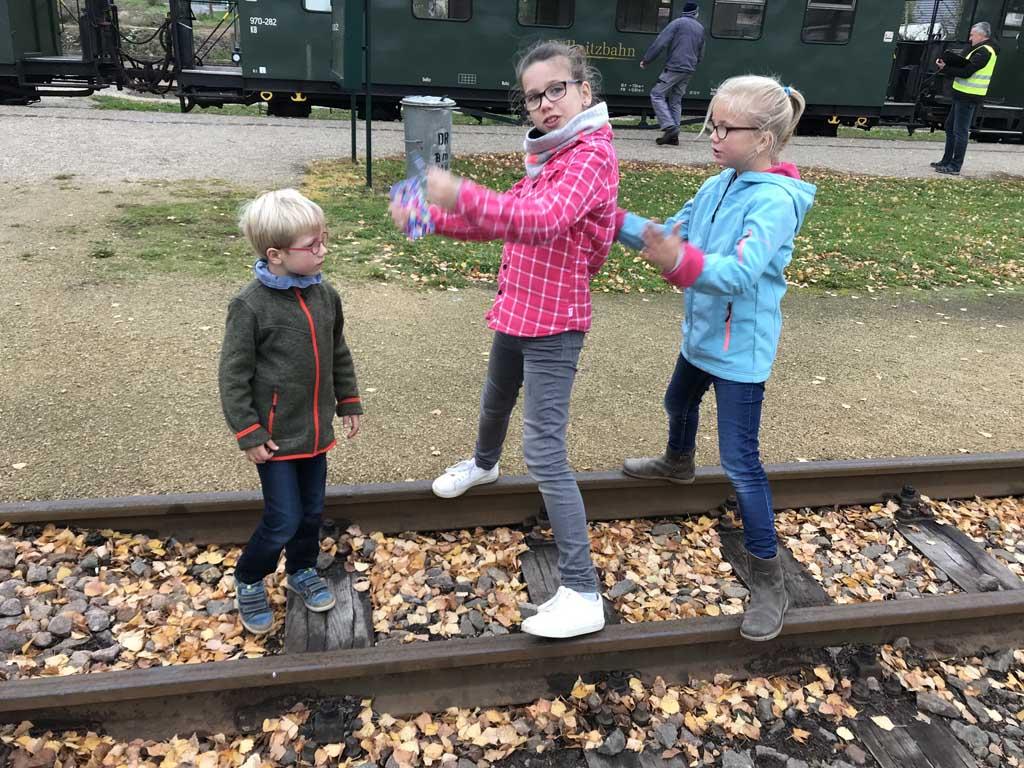 kindvriendelijke bezienswaardigheden in Saksen dollnitzbahn