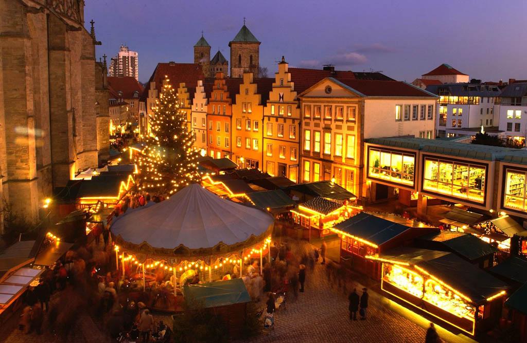 De kerstmarkt in Osnabruck (© Heese Detlef, Osnabruck Marketing + Tourismus Gmbh).