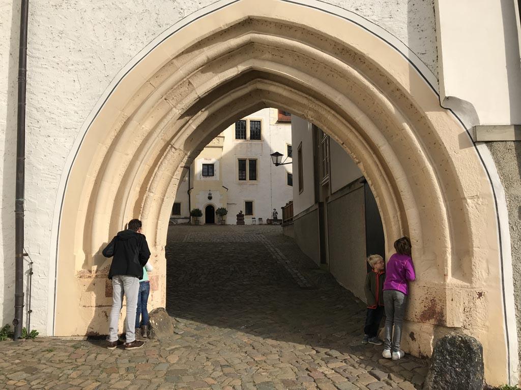 Schloss Coldtiz boogpoort