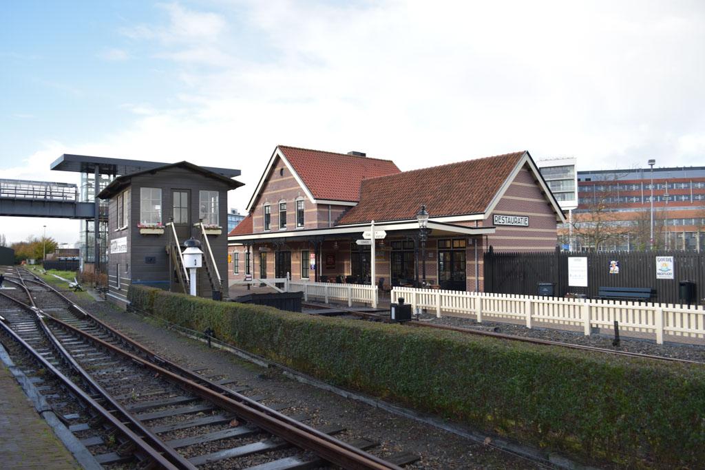 Een leuk ouderwets station