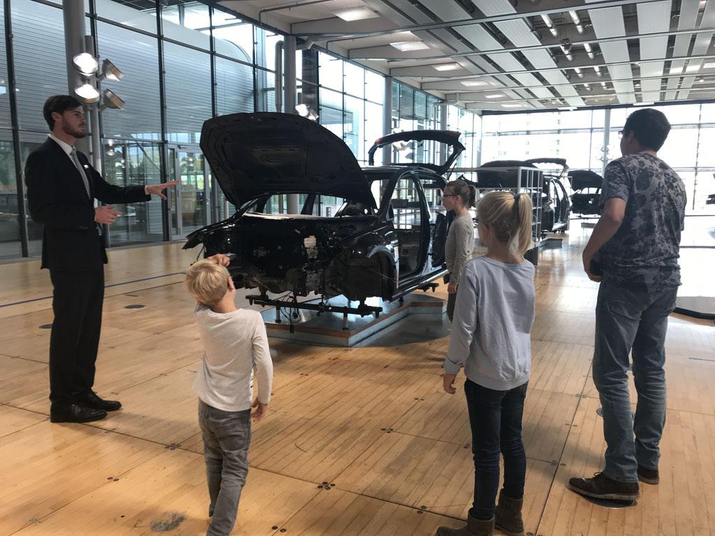 Speciale rondleiding voor gezinnen (foto: Fieke).