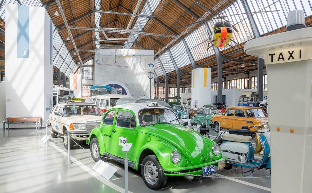 De verkeersafdeling van het Deutsches Museum (© Deutsches Museum).