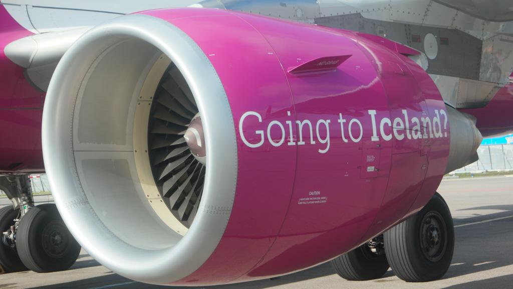 Met WOW air naar IJsland.