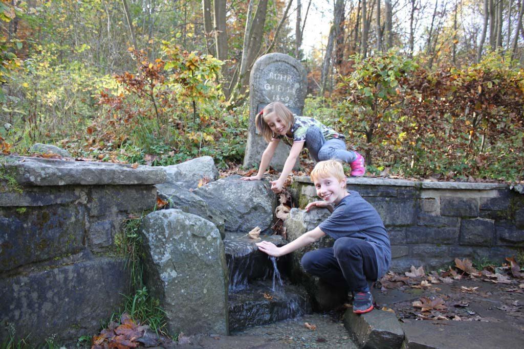 De bron van de Ruhrquelle.
