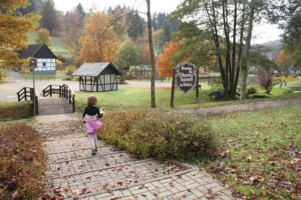 Een park in Elkeringhausen