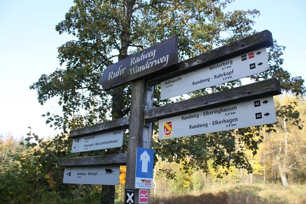 Er zijn veel verschillende wandelroutes te volgen in de buurt van Winterberg.
