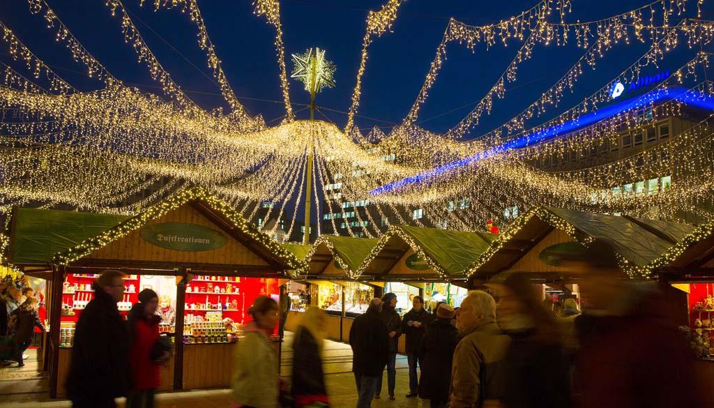 De Weihnachtsmarkt in Essen (© Essen Marketing GmbH, Peter Wieler).