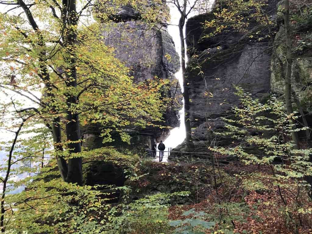 Sächsische schweiz mooie omgeving