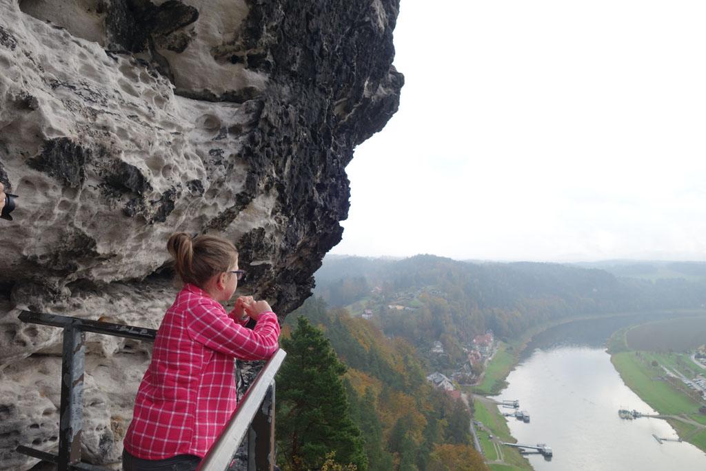Sachsische Schweiz uitzicht punt