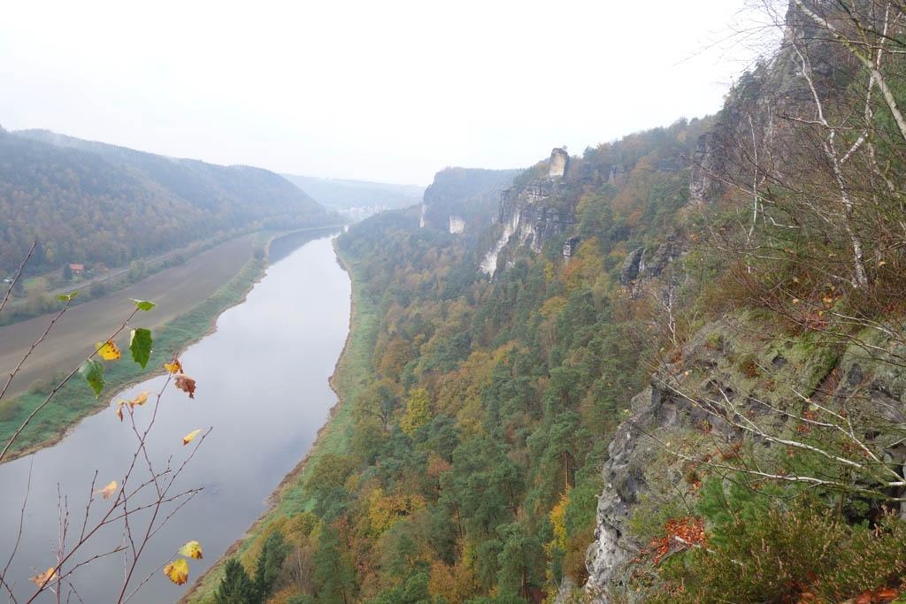 Sächsische Schweiz Elbe zicht