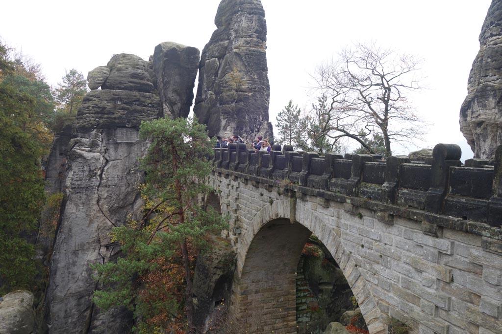 Sächsische schweiz brug van Bastei